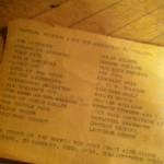 Barb's list